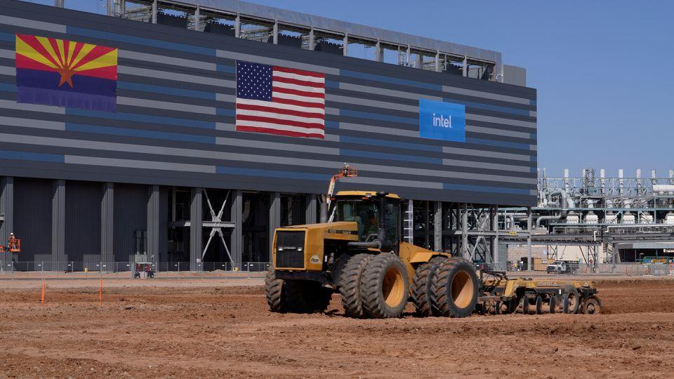 Η Intel κατασκευάζει νέα εργοστάσια αξίας $20 δισεκατομμυρίων στην Αριζόνα των ΗΠΑ